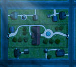 COC:Raid on Innsmouth-Marsh-Estate NIGHT Map