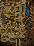 Against The Giants: Hill Giant Dungeon Map