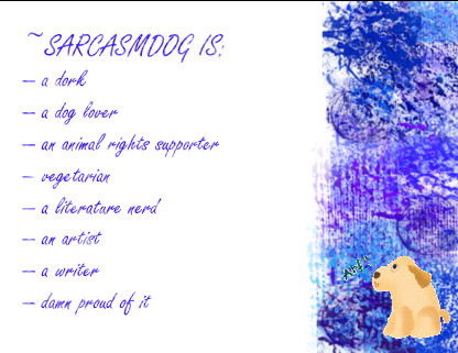 Facts of sarcasmdog by sarcasmdog