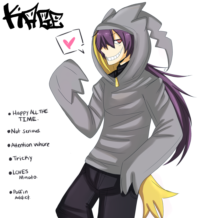 Banette Gijinka by shidrome on DeviantArt