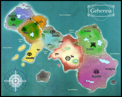 Map of Gehenna by shidrome