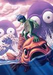 Monstruos mitologia Japonesa by SergiErra