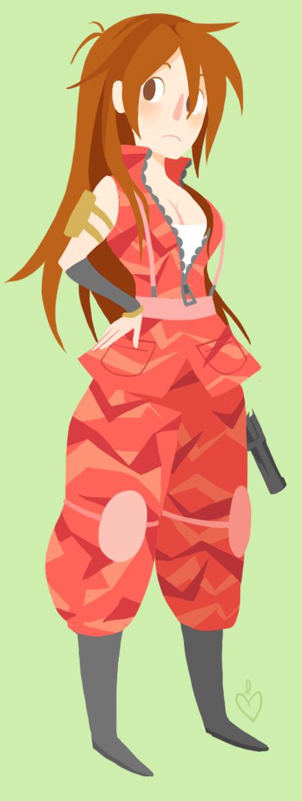 Trigger Mattie by Matsu-sensei