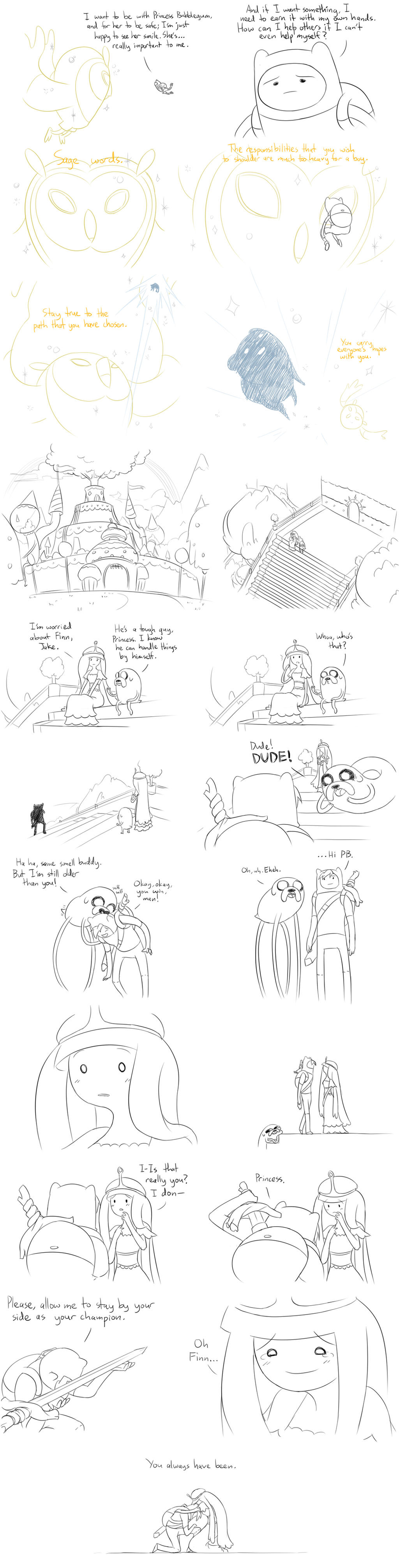 Wizard's Steps: Good End by Matsu-sensei