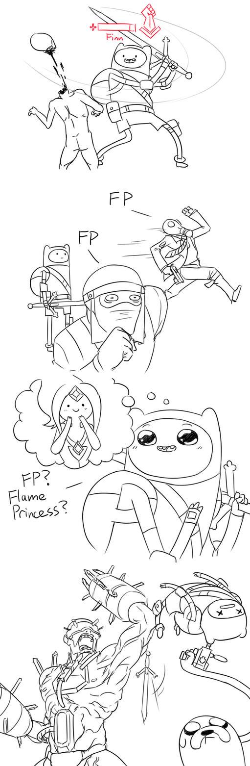 Adventure Floor? Killing Time? by Matsu-sensei