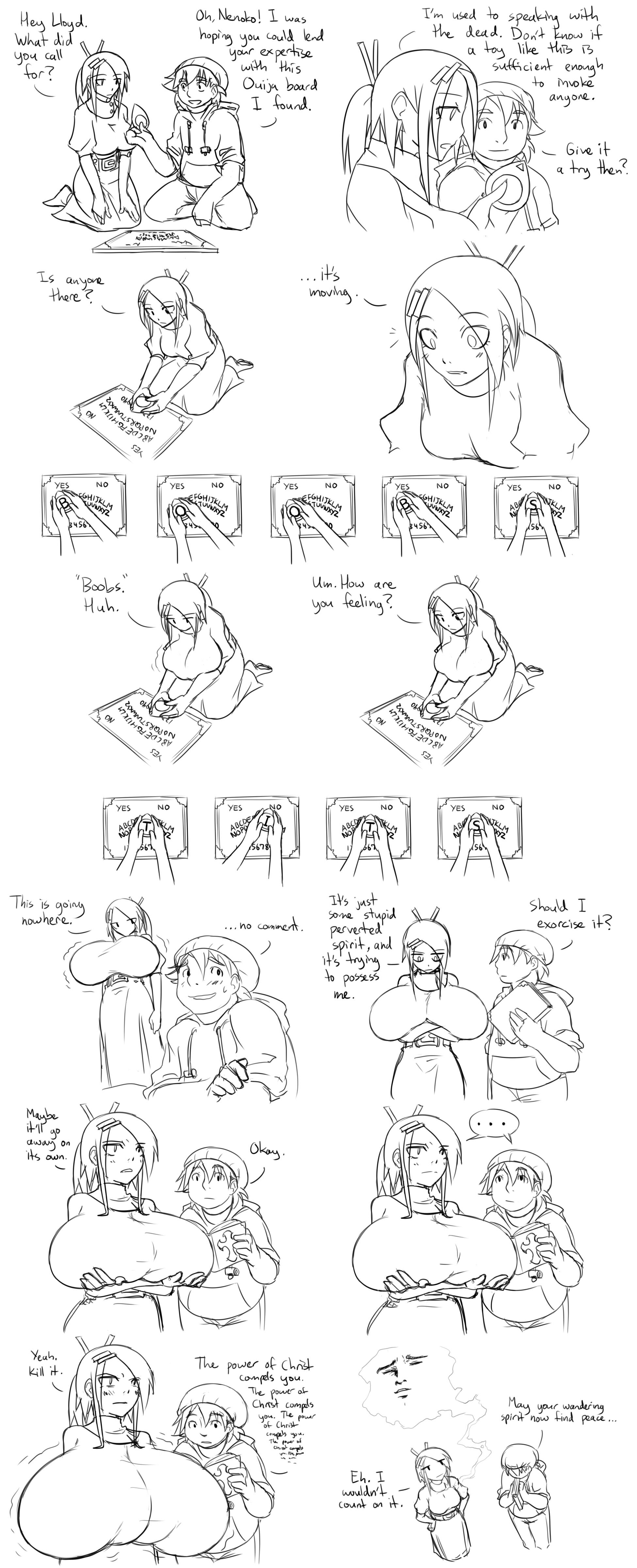 Ghost Busting by Matsu-sensei