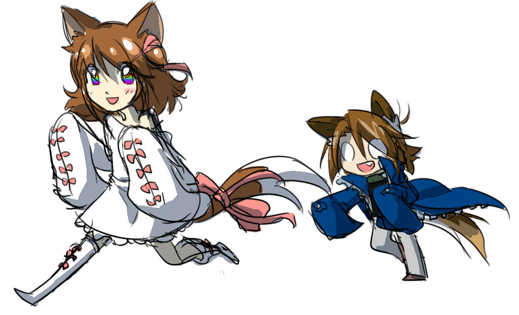 Meow Woof by Matsu-sensei