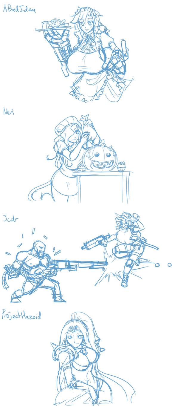 Halloween giftarts 5 by Matsu-sensei