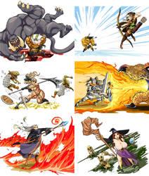 Seekers of the Crown by Matsu-sensei