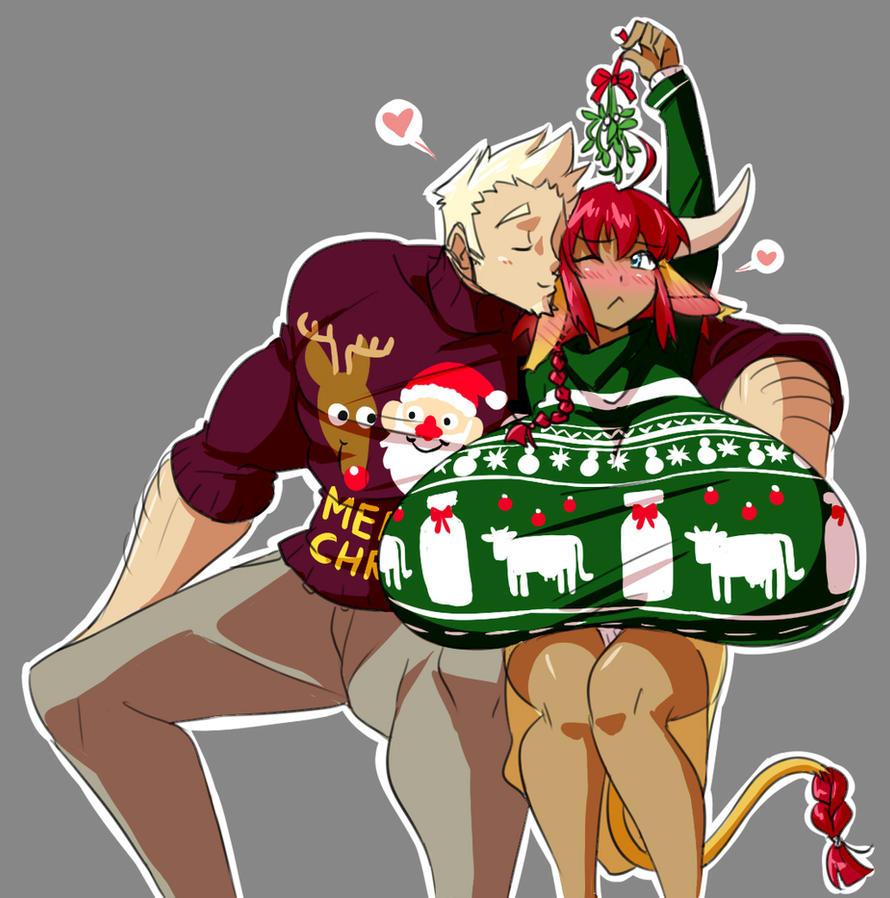 Moo-ry Christmas by Matsu-sensei