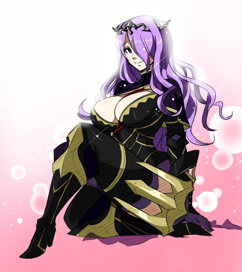 Sitting Camilla by Matsu-sensei