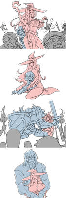 The Knight and The Witch