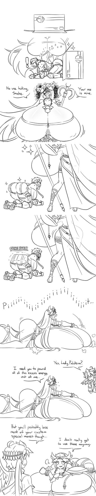 A Goddess' Burden (4/3) by Matsu-sensei