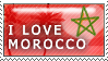 I love Morocco Stamp by Lalla-Mira