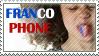 Francophone stamp
