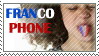 Francophone stamp by Lalla-Mira