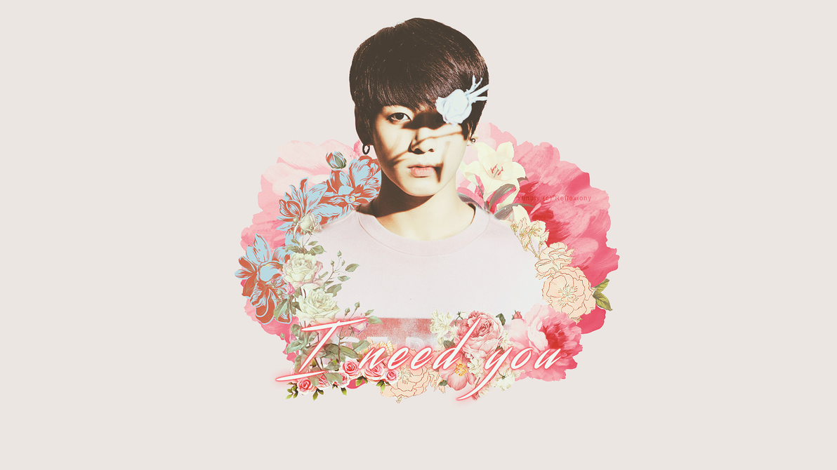 I need you jungkook bts wall by reflexiony on deviantart for I need art for my walls