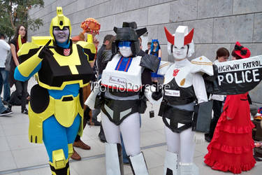 Transformers Group-Cosplay