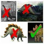 Scientifically Accurate Paleo-Stegosaurus