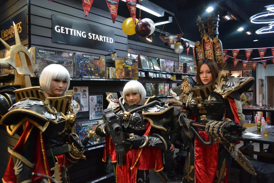 Battle Sisters by kazuma74223