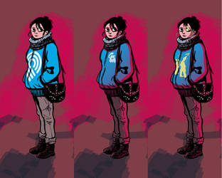 Natalie - Character Design by samgarciabd