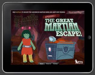 Matilda and Bouru - iPad Game by samgarciabd