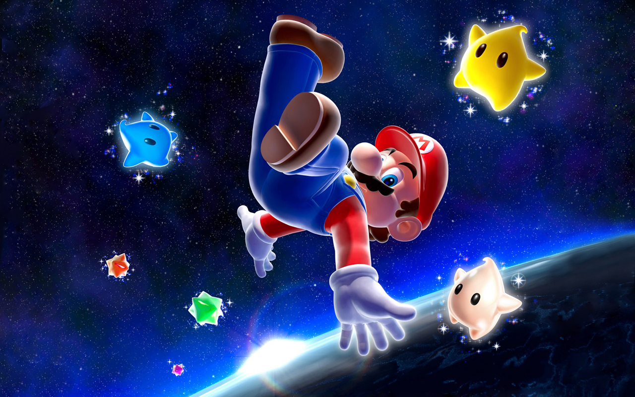 Wallpaper. Super Mario Wallpaper +Super Mario Galaxy Wallpaper+ by
