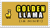 +Golden.LLama.Stamp+ by ViViTheDaRk