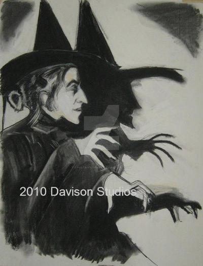 Margaret Hamilton,charcoal by pauldavisonart