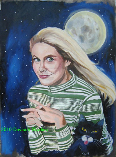 Elizabeth Montgomery/Bewitched by pauldavisonart