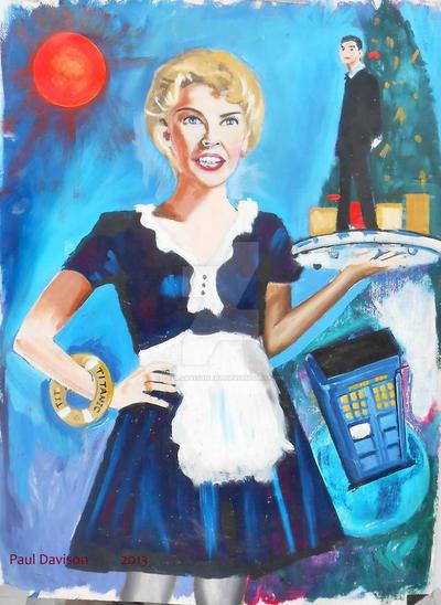 Kylie Minogue as Astrid Peth by pauldavisonart