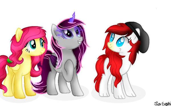 My Oc's Group by TreeGreen12