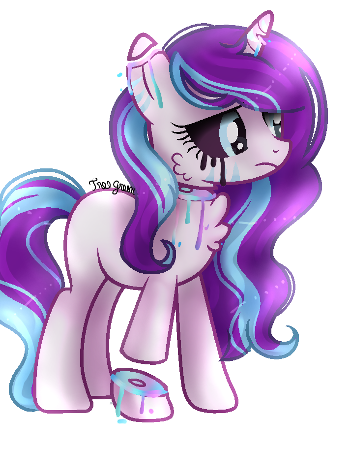 [Commission] Pastel Gore For TheFrozenDiamond by TreeGreen12