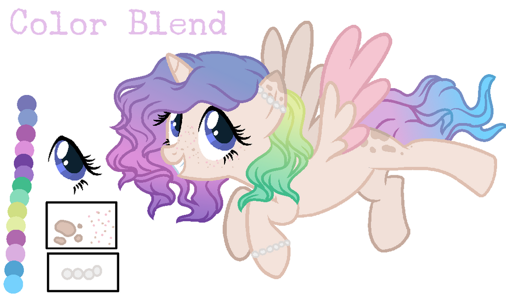 [Ref Sheet] Color Blend by TreeGreen12