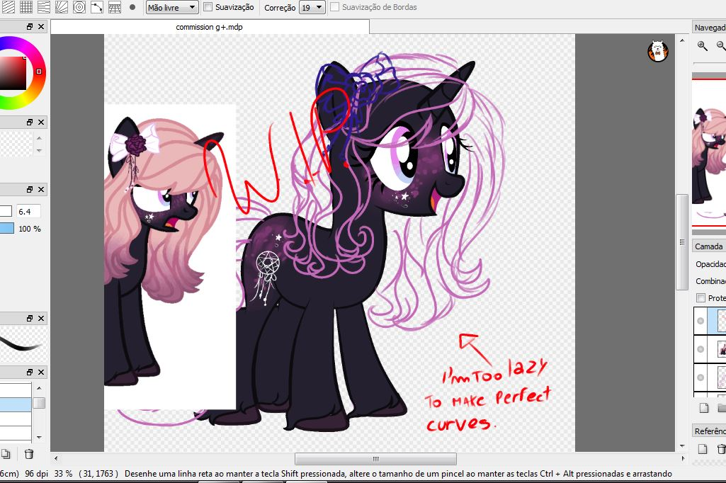 WIP Commission by TreeGreen12