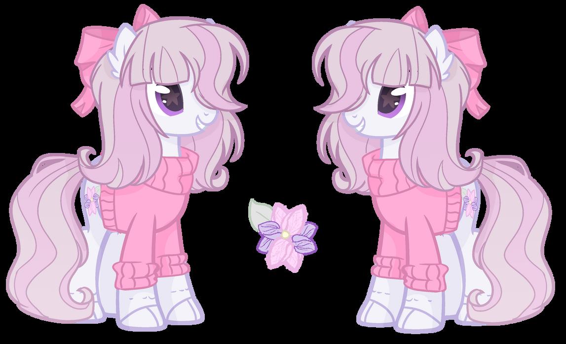 Flower Pony-OPTA Adopt  CLOSED by TreeGreen12