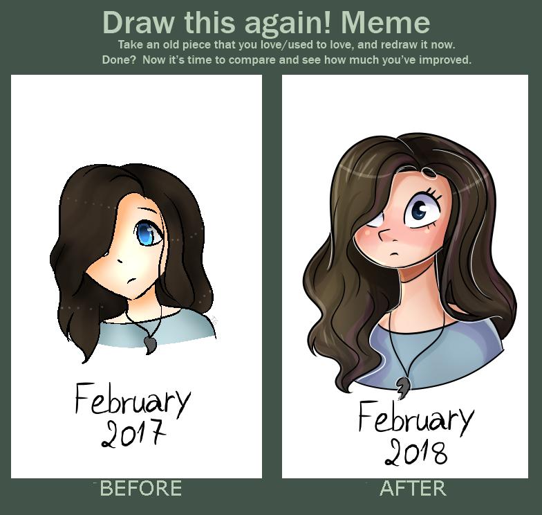 Draw this Again Meme by TreeGreen12