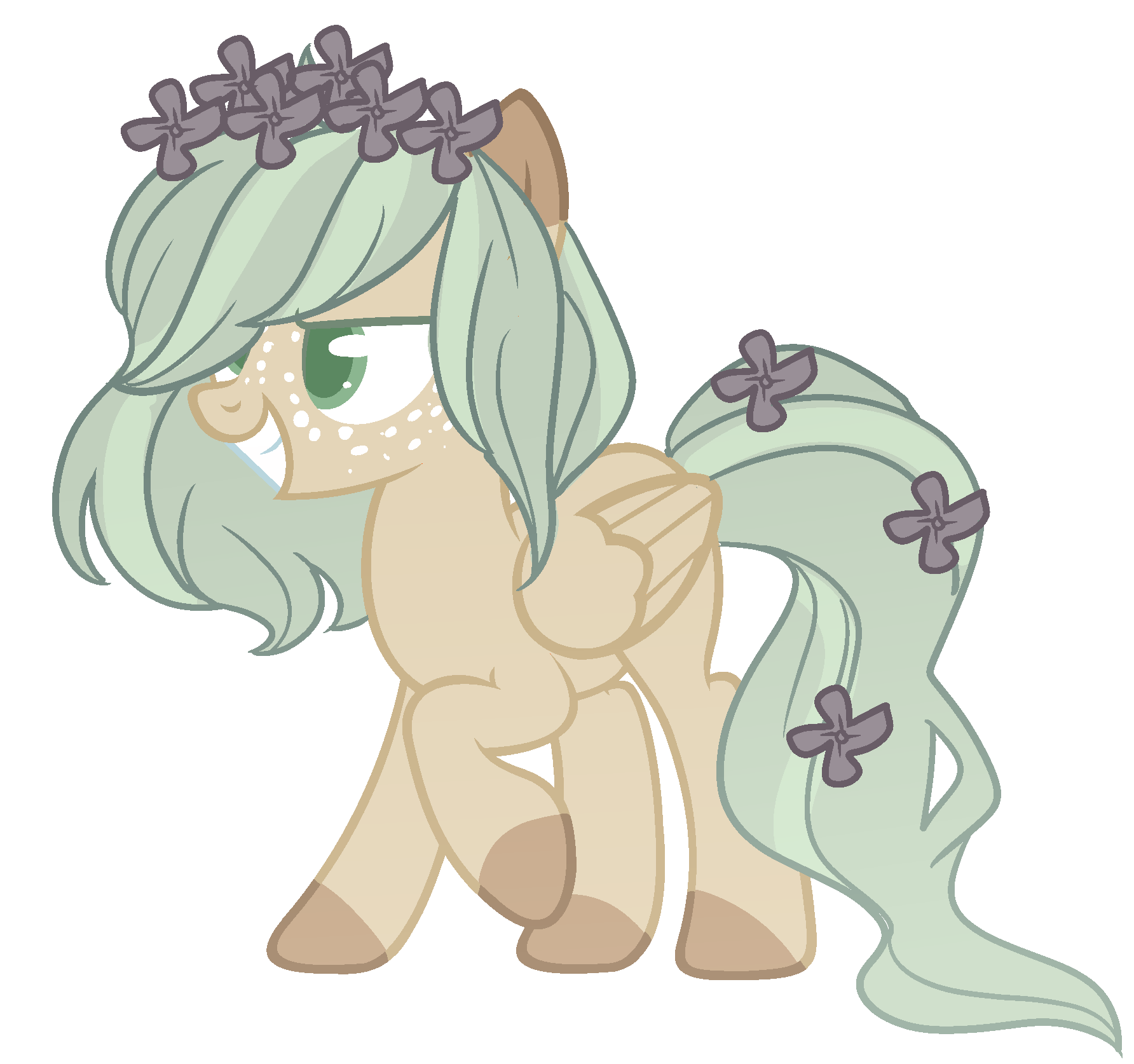 MLP Adopt -Flower CLOSED by TreeGreen12