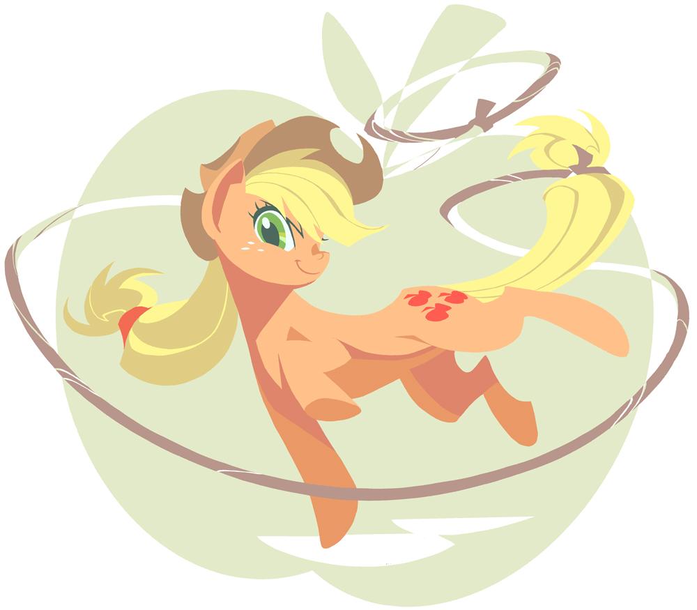 My Little Pony fanart: AppleJack by NP447235