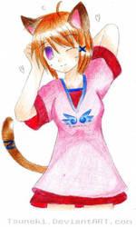 Kitty by Tsuneki Colored :D by Nephro