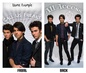 call us freaks
