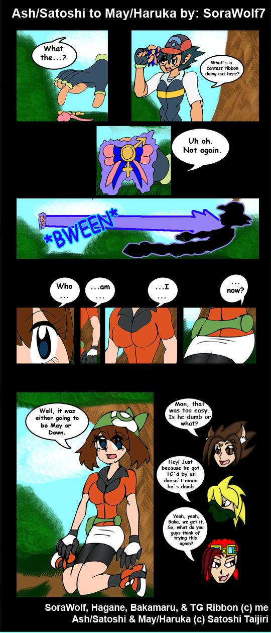Ash to May TF TG by SoraWolf7
