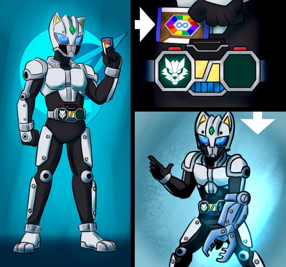 Kamen Rider Canvas By Malunis by SoraWolf7