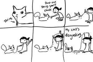 My Cat's Disgusting by xPinkScissorsx