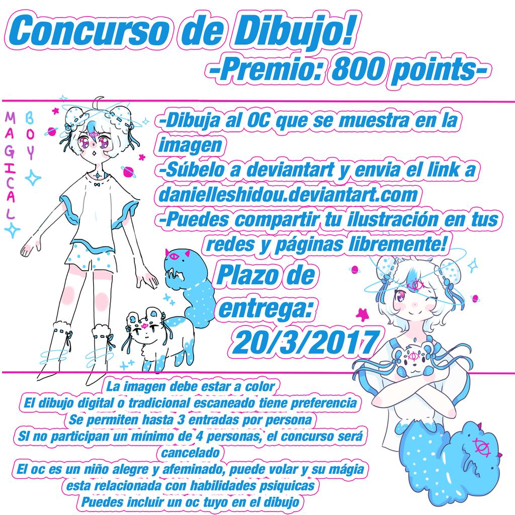 Concurso de dibujo by danielleshidou on deviantart - Concurso de dibujo 2017 ...