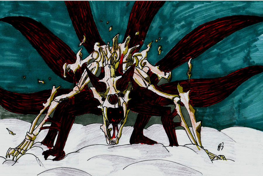 Naruto Kyuubi Six Tails By Kyuubi0017 On DeviantArt