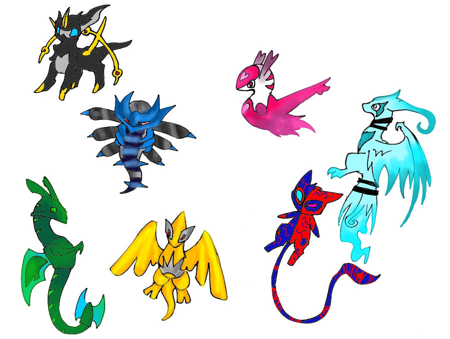 Chibi pokemon adoptables by Kyuubi0017 on DeviantArt