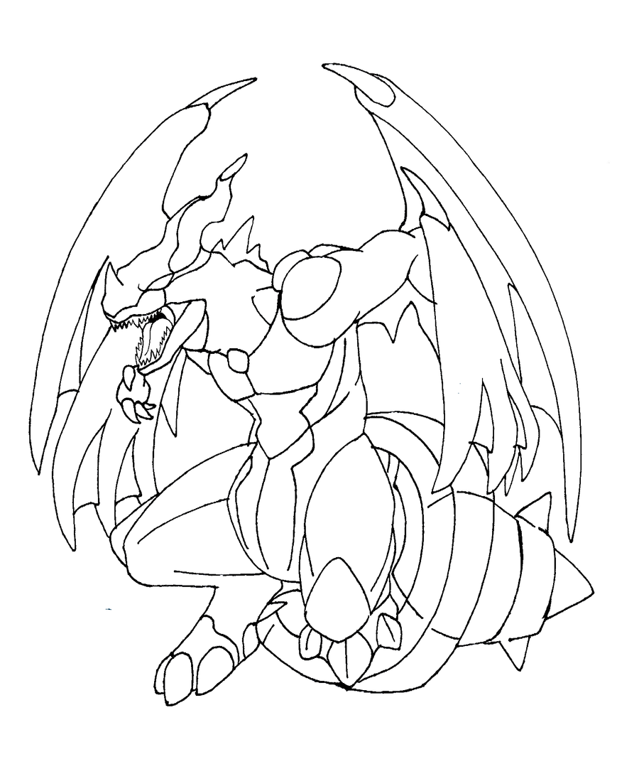zekrom ex coloring pages | Zekrom Line Art by Kyuubi0017 on DeviantArt