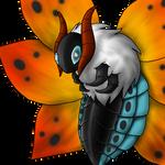 Pokemon no.637 Volcarona