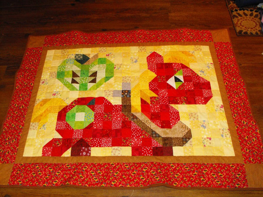 Big Macintosh Quilt by jysalia
